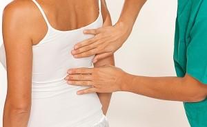 Смещение 8 позвонка грудного отдела